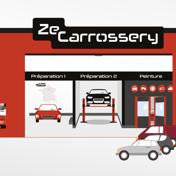 Design graphique global pour ZeCarrossery