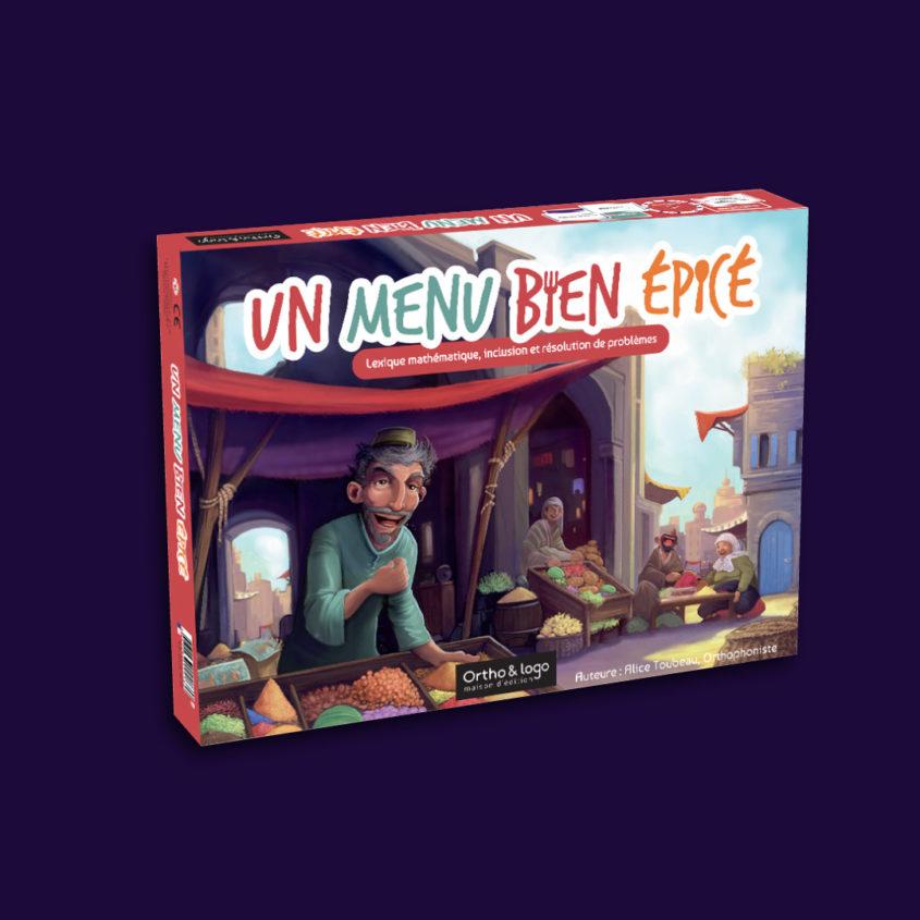 anne-lise-mommert-design-graphique-ortho&logo-edition-orthophonie-jeu-un-menu-bien-epice-boite