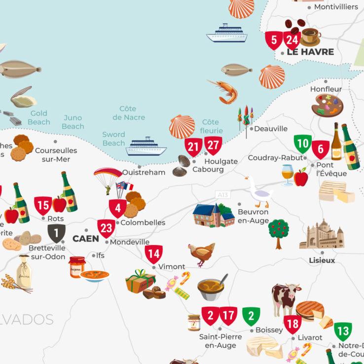 anne-lise-mommert-pommep-graphiste-freelance-normandiearea-normandie-carte-gastronomique-touristique-cover